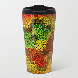 The flower of Love  (This Artwork is a collaboration with the talented artist Agostino Lo coco) Travel Mug