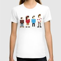 seinfeld T-shirts featuring Pixel Seinfeld by Vectorific Design