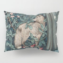 William Morris Forest Fox Tapestry Pillow Sham