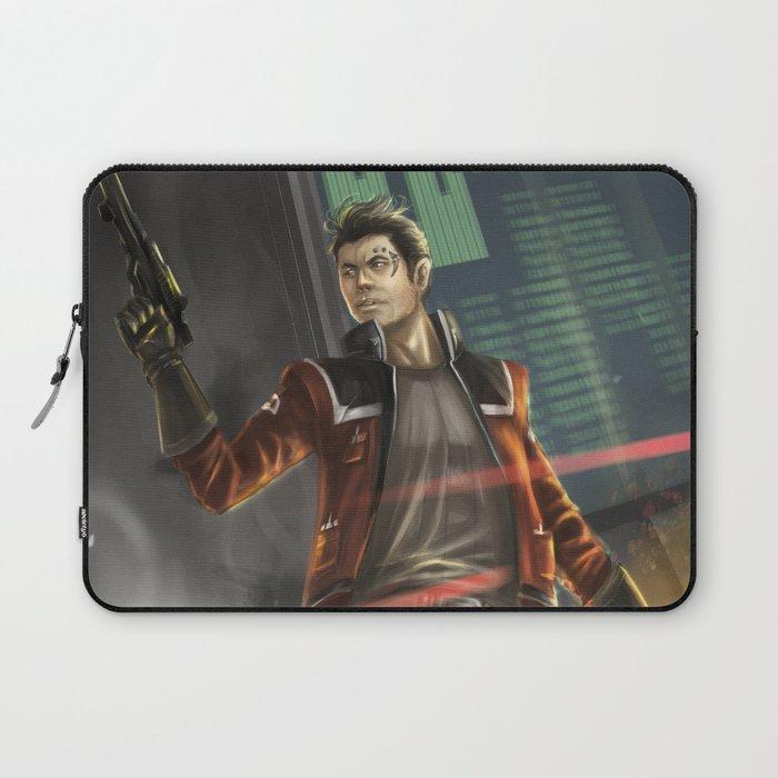 Agent Shan Laptop Sleeve