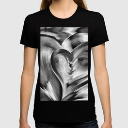 Double Heart beat chrome T-shirt