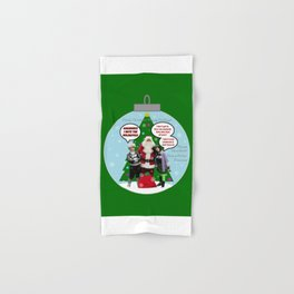 Danny Phantom Christmas ornament greeting card Hand & Bath Towel