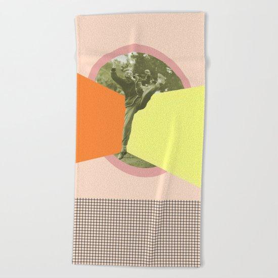 JUMPING AROUND Beach Towel