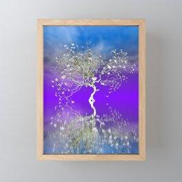 tree art -1- Framed Mini Art Print