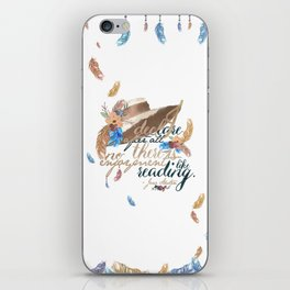 Jane Austen - No Enjoyment Like Reading iPhone Skin