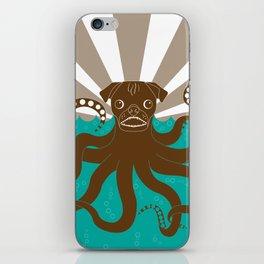Octopug iPhone Skin