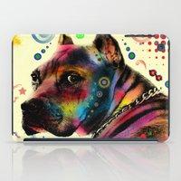 dog iPad Cases featuring dog by mark ashkenazi