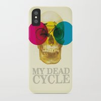 cycle iPhone & iPod Cases featuring CYCLE by Nazario Graziano