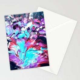 Fluid Abstracts Stationery Cards