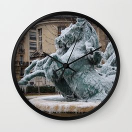 Ice Mares Wall Clock