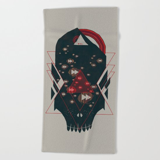 Fast Forward Beach Towel