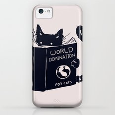 World Domination For Cats Slim Case iPhone 5c