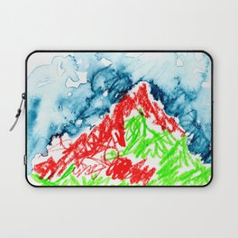 up to the hill Laptop Sleeve