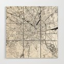 Milan White Map by multiplicity