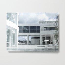 Richard Meier - Getty Center III Metal Print