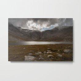 Summit Lake and Mount Evans Metal Print