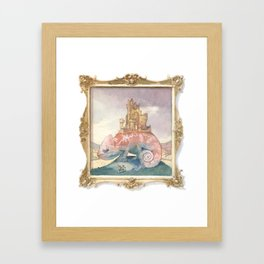 Camelot on a Chameleon Framed Art Print