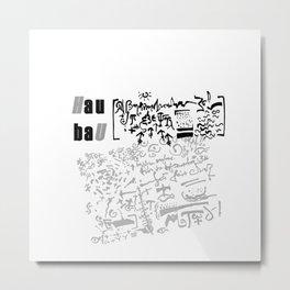 hAU bAU 698 Metal Print