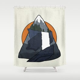 Vernal Falls  Shower Curtain