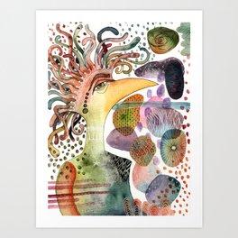 The Aspiring Eccentric Art Print