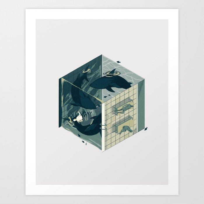 Cube 03 Art Print