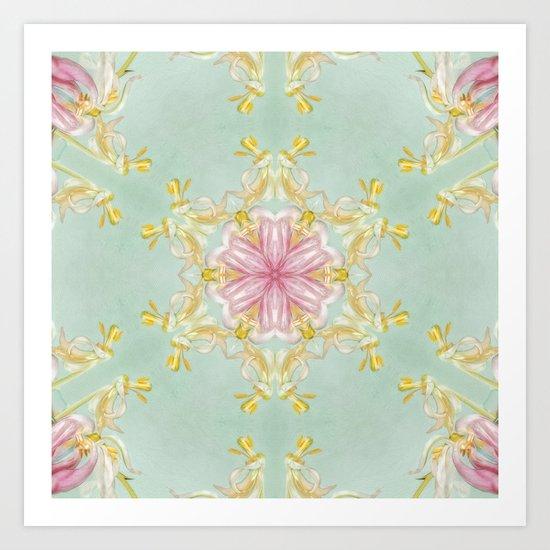 aging beauty N°2  (pattern/pillow) Art Print