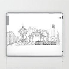 San Francisco by the Downtown Doodler Laptop & iPad Skin