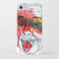 einstein iPhone & iPod Cases featuring Einstein by Alan fe