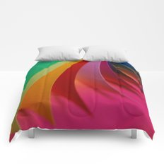 Colorful Paper Comforters