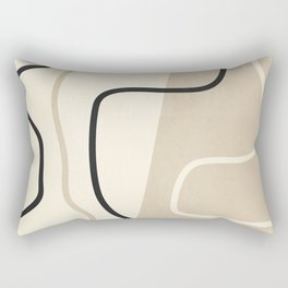 Abstract Line Rectangular Pillow