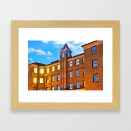 The Historic Lane Hotel - Rogers Arkansas USA Framed Art Print