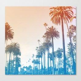 Summer in LA Canvas Print