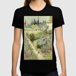 Vincent Van Gogh : Garden at Arles T-shirt
