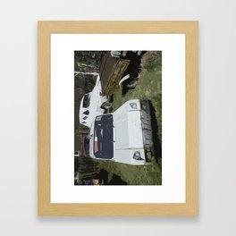 Russian Car Framed Art Print