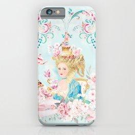 Marie Antoinette Hot Tea iPhone Case