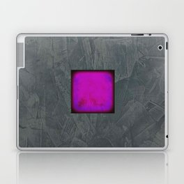Slate Gray Lavender Fuschia Modern Art Laptop & iPad Skin