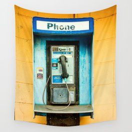 Pay Phone Wall Tapestry