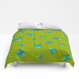 Green Turtle or Toad? Comforters