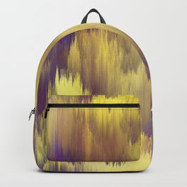 Glitch art Dune #glitch #abstraction Backpack