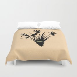 Tennessee - State Papercut Print Duvet Cover