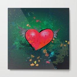 Aching Heart Metal Print