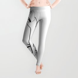 Line Art Shape Leggings