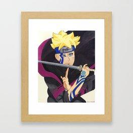 Boruto Framed Art Print