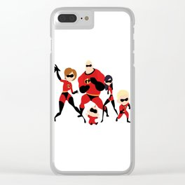 The incredibles Clear iPhone Case