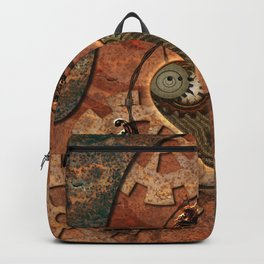 Steampunk, rusty heart Backpack