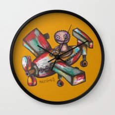 Let's Fly? Wall Clock