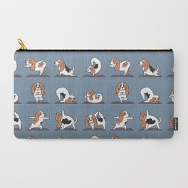 Basset Hound yoga Carry-All Pouch