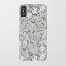 The Birds & The Beards iPhone Case