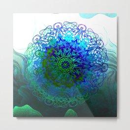 MUDITA Mandala Metal Print