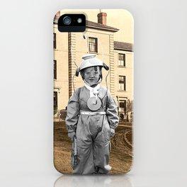 Child Astronaut iPhone Case